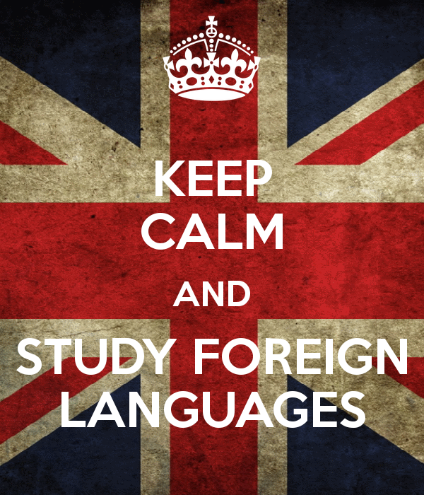 keep calm and study foreign languages 1